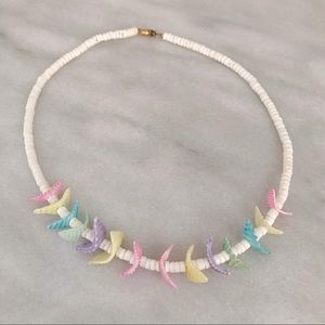 90's puka chip shell necklace